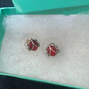 Brighton Ladybug Earrings